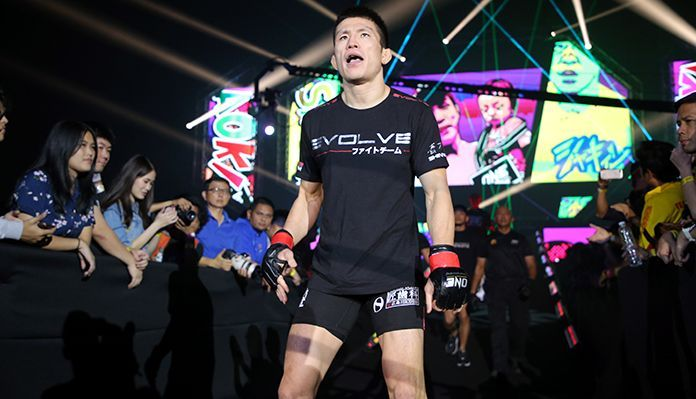 """Shinya """"Tobikan Judan"""" Aoki is living out the core values of ONE Championship, applying the principles of martial arts to his life"""
