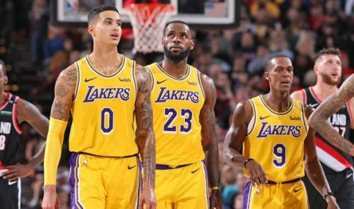 The Lakers are currently 9.5 games behind the 8th seed.
