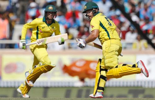 Khawaja and Finch added 193 runs partnership for the opening wicket.