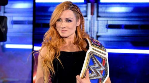 Becky Lynch - Former SmackDown Women's Champion