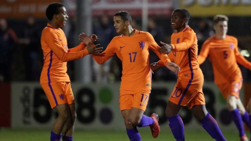 Mohammed Ihattaren (no.17) is one of the many bright young stars in Dutch Football