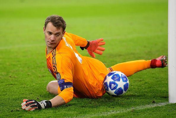 Manuel Neuer made a huge mistake for Sadio Mane