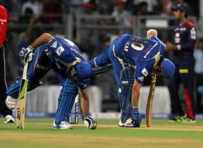 Sachin Tendulkar and Ricky Ponting opened for Mumbai Indians.