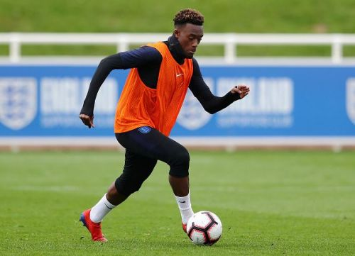 Chelsea youngster Callum Hudson-Odoi has been unexpectedly called into the England squad