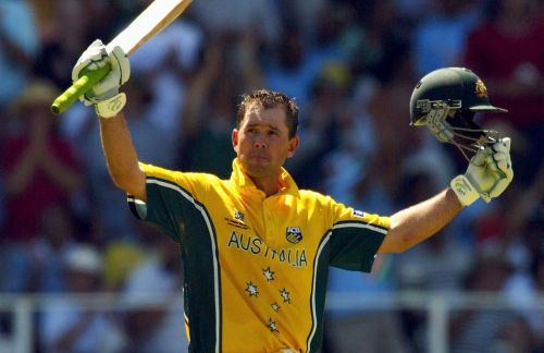 ricky ponting world cup record
