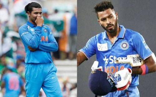 Hardik Pandya and Ravindra Jadeja are two of the best all-rounders for India