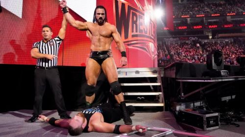 Drew McIntyre absolutely decimated Dean Ambrose in the main event