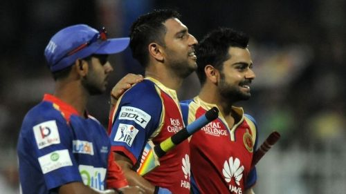 Yuvraj Singh played for RCB in 2014