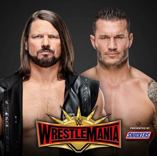 AJ Styles v/s Randy Orton at Wrestlemania 35