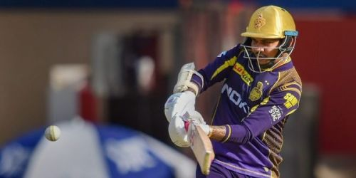 Sunil Narine could not open the innings due to an injury sustained during fielding