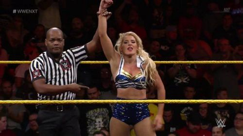 Lacey Evans is expected to become a major name on the main roster