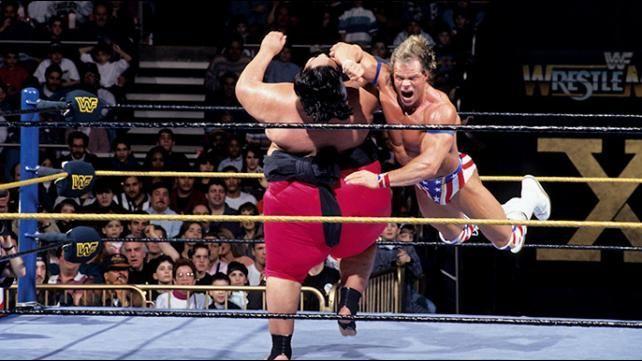 Luger went on to lose to Yokozuna at WrestleMania 10