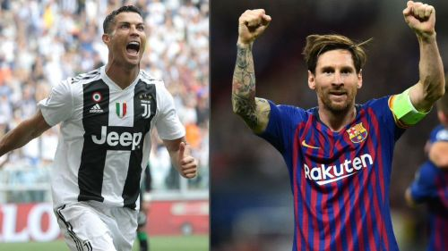 Ronaldo and Messi stole the show during this week's Champions League's games