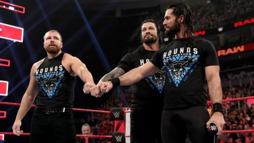 The last time The Shield will appear as a group on WWE television