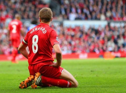 Steven Gerrard's infamous slip against Chelsea at Anfield eventually cost them the PL title in 2014