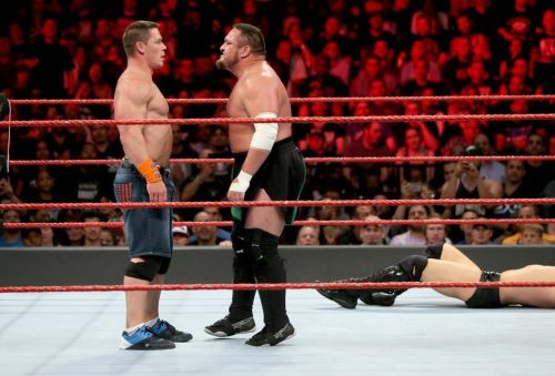 Samoa Joe and John Cena need to face off