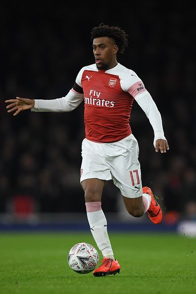 Alex Iwobi has certainly improved, but he is not Serge Gnabry.