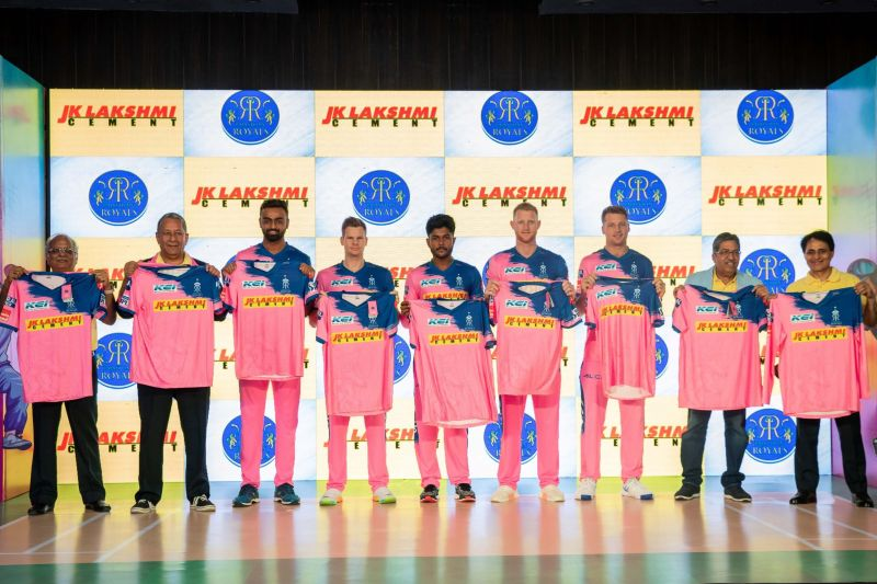 Rajasthan Royals - The Men in Pink