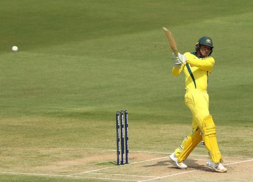 Usman Khawaja scored his 6th ODI half century .
