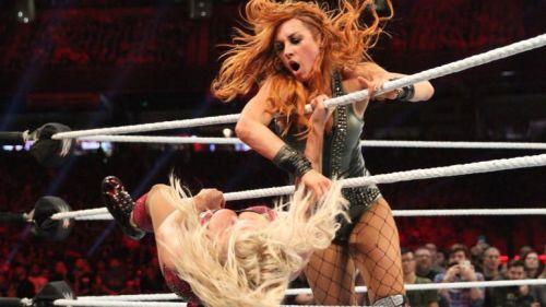 Becky Lynch won the Royal Rumble.