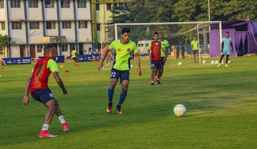 Delhi Dynamos' Shubham Sarangi trained with the boys of Qatar's Aspire Academy