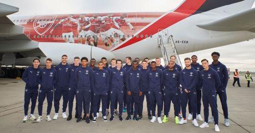 Arsenal in Dubai