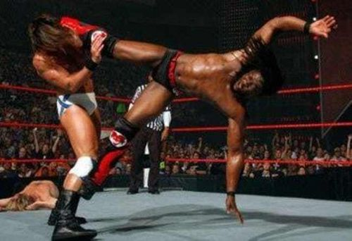 Image result for kofi kingston capoeira