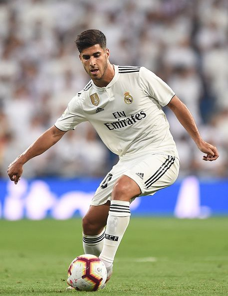 Asensio has been mostly deployed on the left wing for Real Madrid