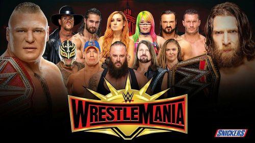Wrestlemania 35 is just a few weeks away