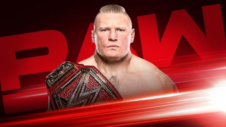 Brock Lesnar will be on the RAW next week