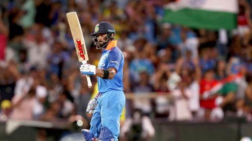 Virat Kohli with a match winning effort