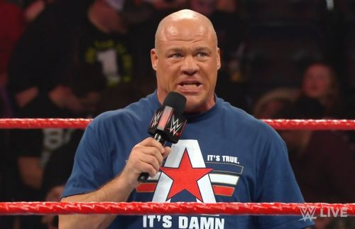 Kurt Angle teased whom he could face at WrestleMania 35
