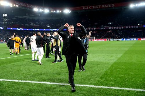 Manchester United upset the odds by knocking out Paris Saint Germain from the Champions League yesterday