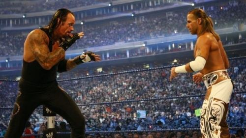 Shawn Micheals vs The Undertaker at Wrestlemania 25