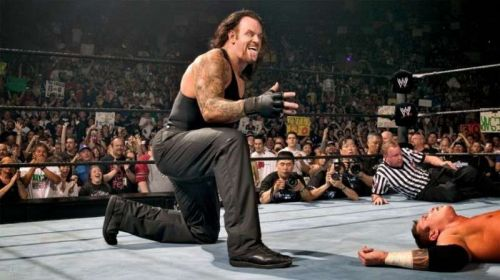 Undertaker's victory over Randy Orton at WrestleMania 21 was a key moment in WWE history