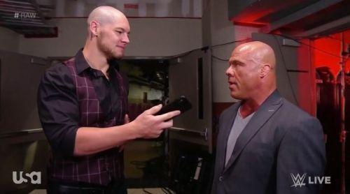 Corbin and Kurt Angle