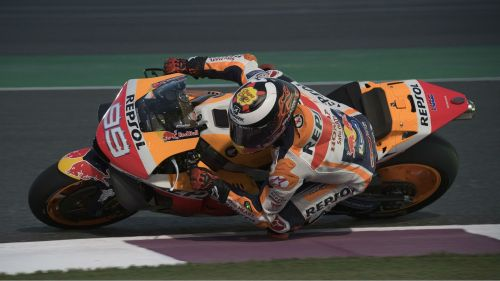Jorge Lorenzo during pre-season testing in Qatar
