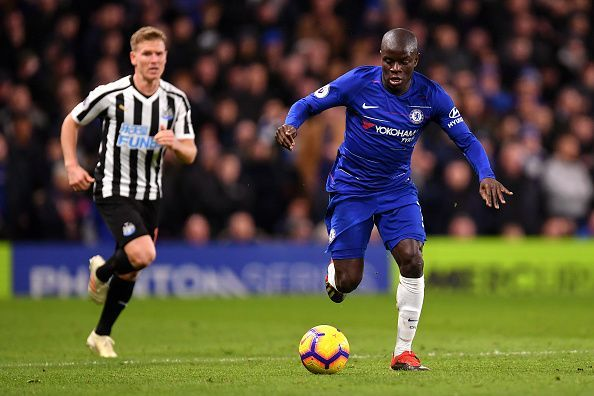 In spite of being played out of position, Kante has been brilliant for Chelsea FC.