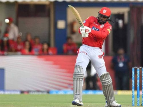 Chris Gayle in firs match of IPL 2019