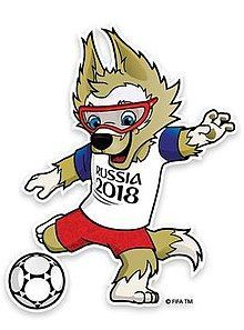 Zabivaka The Wolf - 2018 FIFA World Cup Mascot
