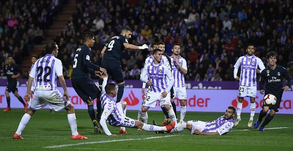 Los Blancos are enduring a tough campaign this term