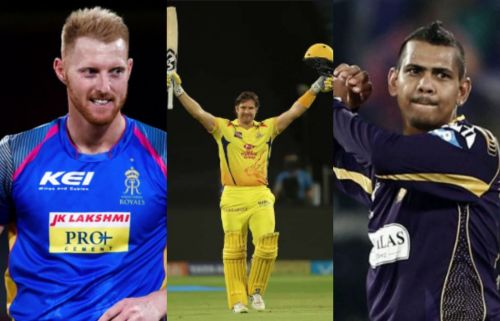 All- rounders of IPL Enter caption Enter caption