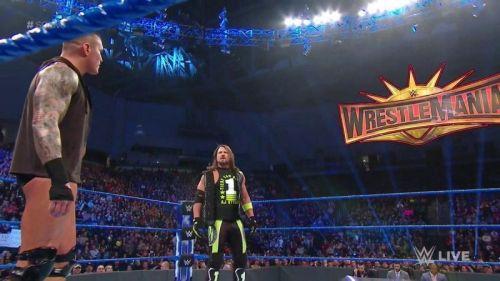 AJ Styles will take on Randy Orton at WrestleMania 35