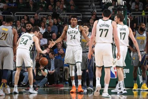 The Bucks bounced back from two straight losses with a win at home against the Pacers. Credit: BR