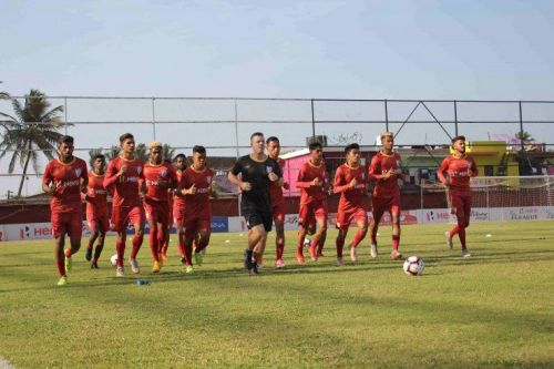 Tajikistan and Uzbekistan will pose a tough challenge in India's quest to break their AFC U23 Championship Qualifiers jinx (Image Credits- AIFF Media)