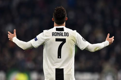 Ronaldo scored a hattrick against Atletico Madrid