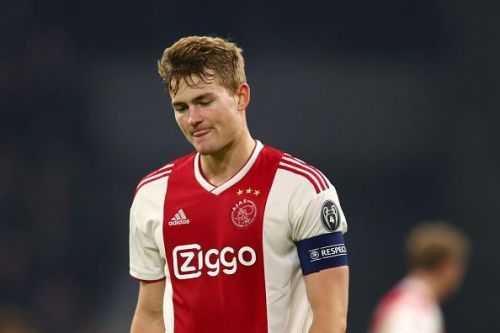 De Ligt was part of the Ajax team that knocked Real Madrid out of the Champions League a couple of weeks back