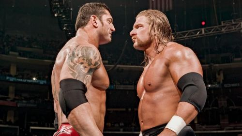 The Animal toppled his mentor at WrestleMania 21 to capture the World Heavyweight Championship