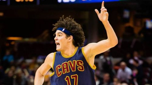 Anderson Varejao was drafted by the Orlando Magic.