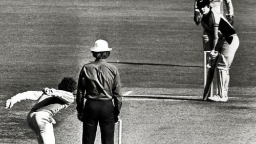 If rules are going to dictate everything, then Trevor Chappell also did nothing wrong (image courtesy: heraldsun.com.au)